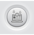 Monetization Icon Business Concept vector image