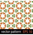 Floral fruit pattern vector image vector image