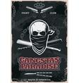 Gangstas Paradise Poster vector image