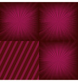 Luxury Background Set vector image vector image