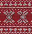 Christmas Sweater Design Seamless Pattern vector image vector image
