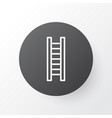 ladder icon symbol premium quality isolated vector image