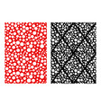 seamless paper with many hole pattern vector image