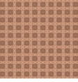 White Vintage Graphic On Brown Background vector image