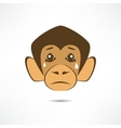 Crying Monkey vector image vector image