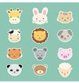 animal cute cartoon vector image