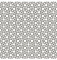 Weaving black-and-white pattern vector image