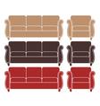 Sofa Armchair vector image vector image