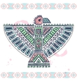 Tribal native ethnic eagle vector image