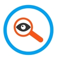 Investigate Rounded Icon vector image