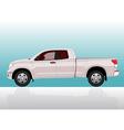 Pick-up truck big vector image vector image
