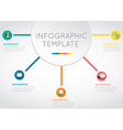 Main idea business infographic template vector image