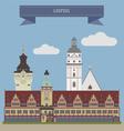 Leipzig vector image vector image