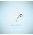 Creative Soccer Design vector image