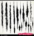 grunge elements - set- 15 peaces vector image