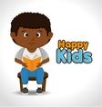 little kids design vector image