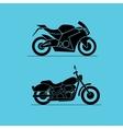 sport motorbike icon design vector image