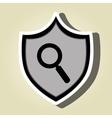 symbol search look data vector image