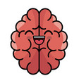 brain storming character concept icon vector image