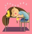 Sleep Coffee2 vector image