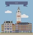 Lille vector image