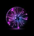 Plasma sphere vector image vector image