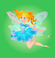 fairy magic wand vector image