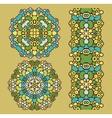 Decoration circles vector image