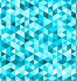 Blue Geometric Background vector image vector image