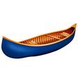 Canoe vector image