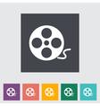 reel film vector image