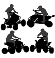Quadbike Silhouette vector image