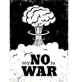 no war white vector image