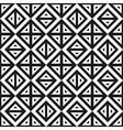 Geometric abstract monochrome pattern seamless vector image vector image