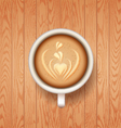 good morning coffee break Hot Coffee cup vector image