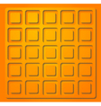 Bright orange vector image