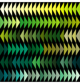 Green tones triangles background vector image vector image