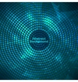 Glowing disco background Mosaic with light vector image vector image