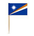 flag of the marshall islands swedish flag vector image