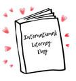 holiday greetings international vector image
