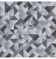 Monochrome geometric background vector image