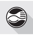 fork and spoon vector image