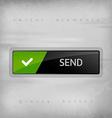 Send Button vector image