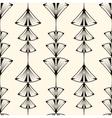 Seamless pattern graphic ornament modern stylish vector image