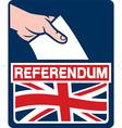United Kingdom Referendum Poster vector image vector image