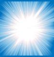 magic starburst vector image