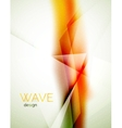 Blur orange abstract background vector image vector image