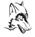 wolfs head vector image