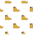 Hiking boots icon in cartoon style isolated on vector image