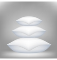 Pillows vector image